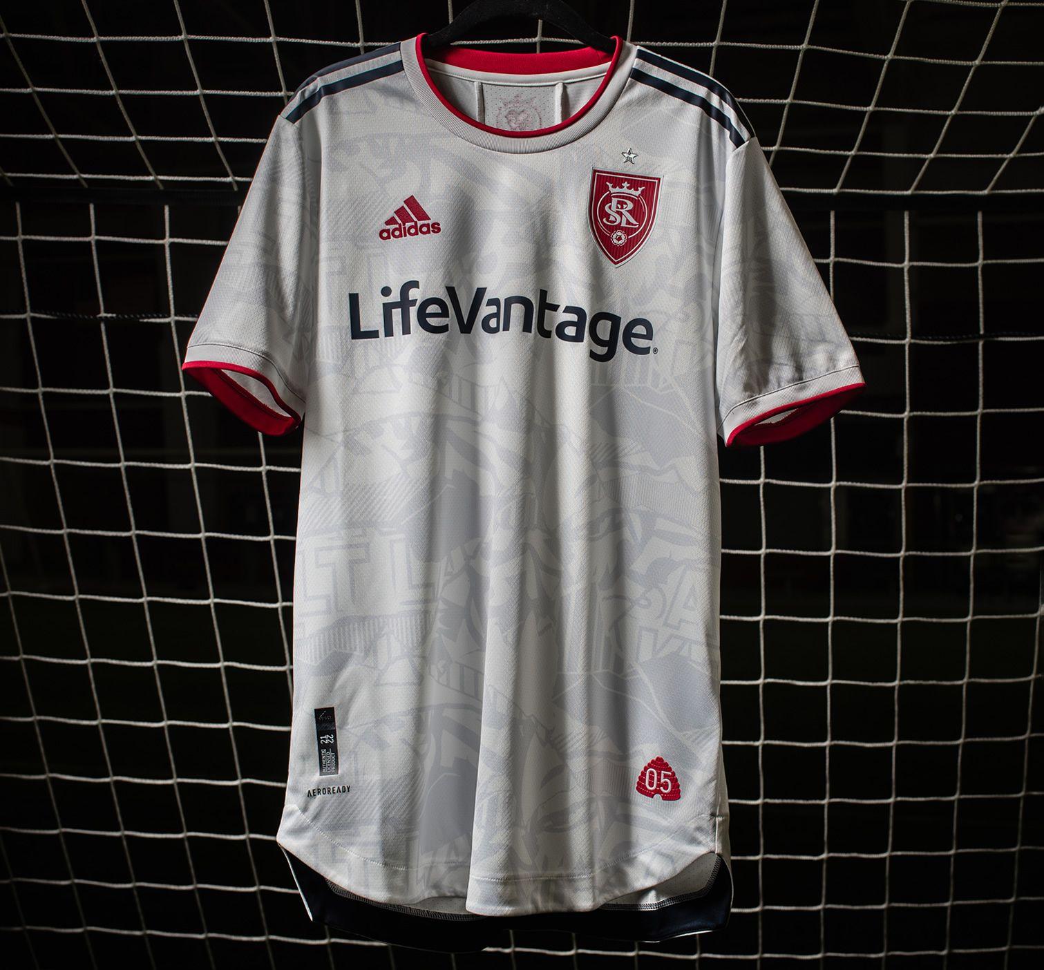 Camiseta adidas del Real Salt Lake 2021/2022 | Imagen Web Oficial