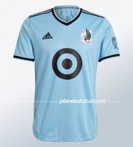 Camiseta suplente adidas del Minnesota United 2021/22