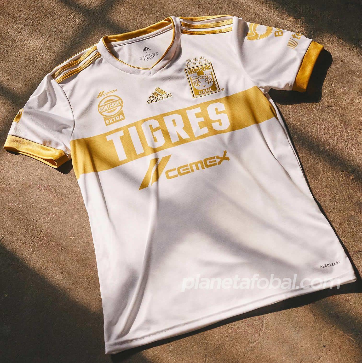 Tercera camiseta adidas de los Tigres UANL 2021