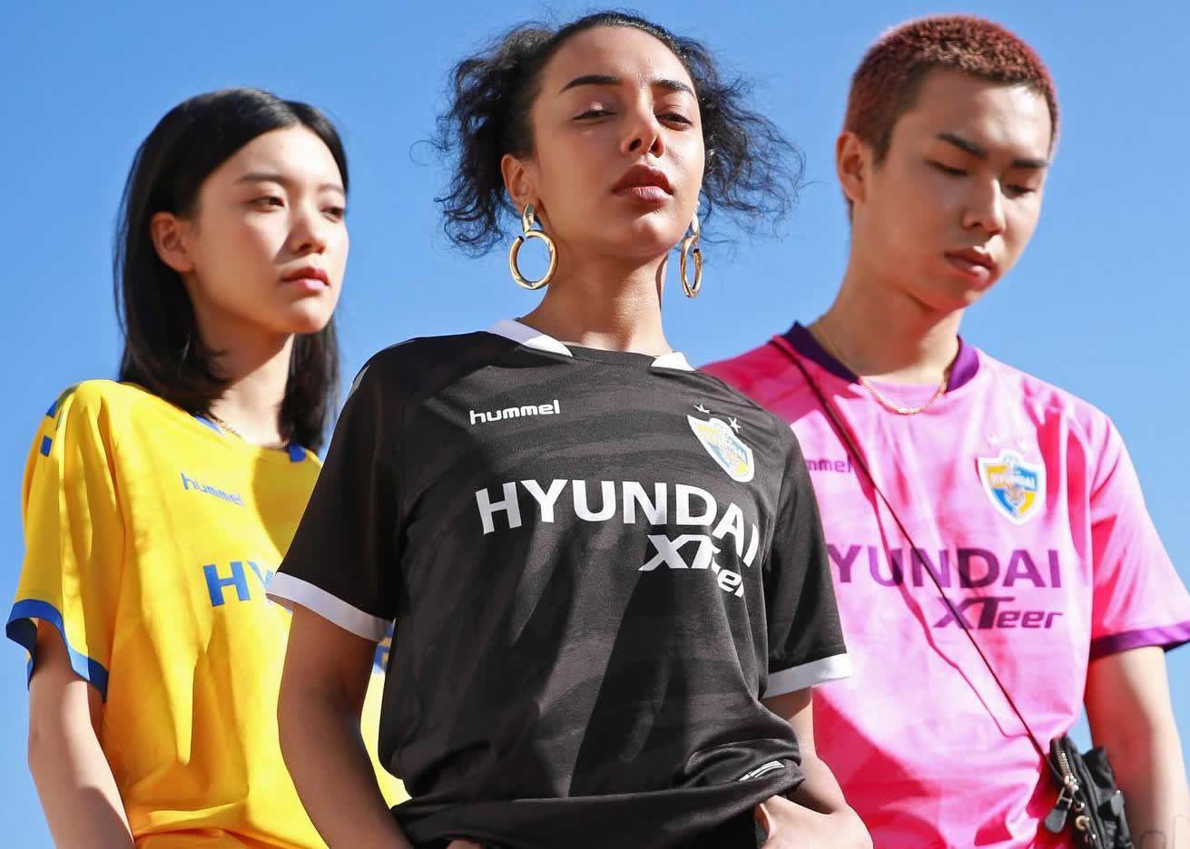 Camisetas Hummel del Ulsan Hyundai 2021
