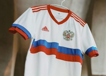 Camiseta suplente adidas de Rusia 2021