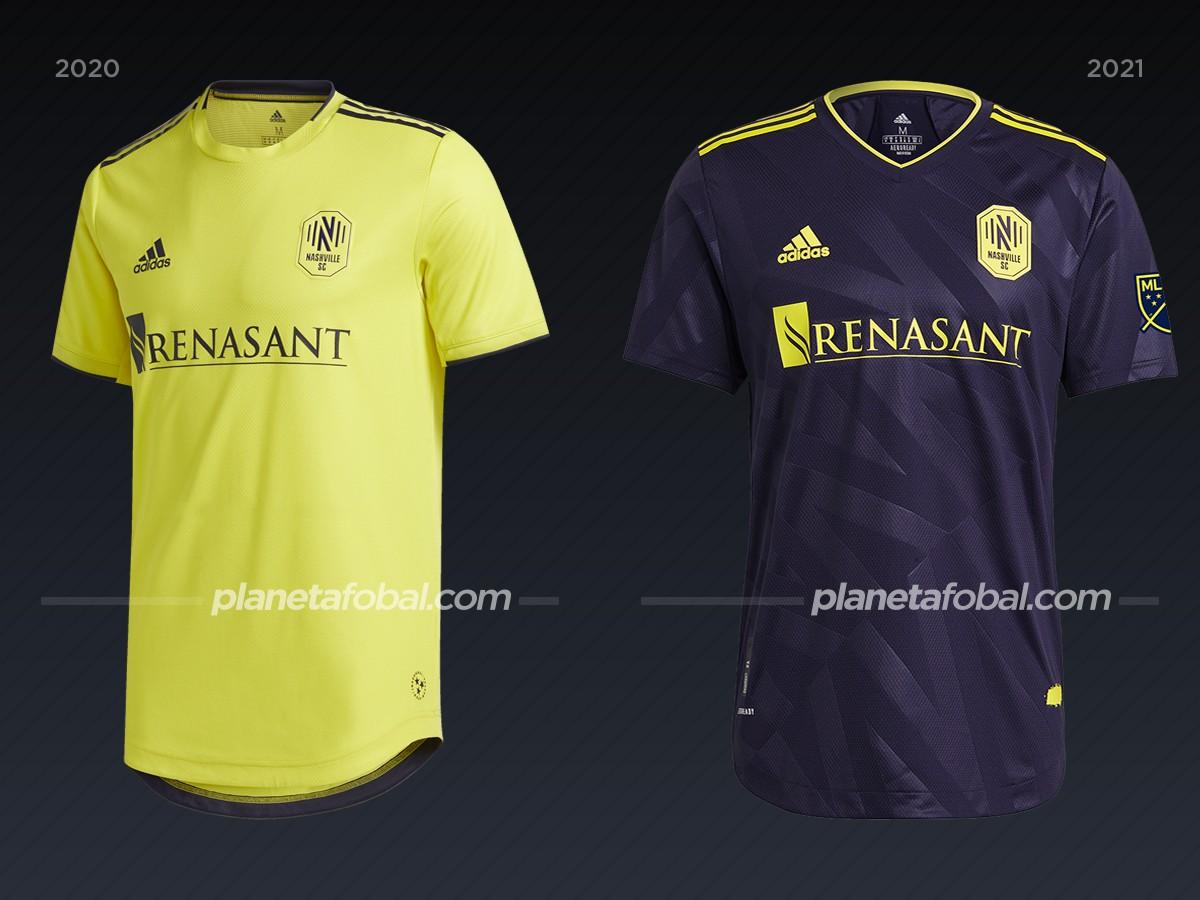 Nashville SC | Camisetas de la MLS 2021