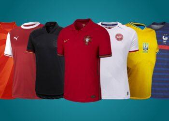 Camisetas de la Eurocopa 2021