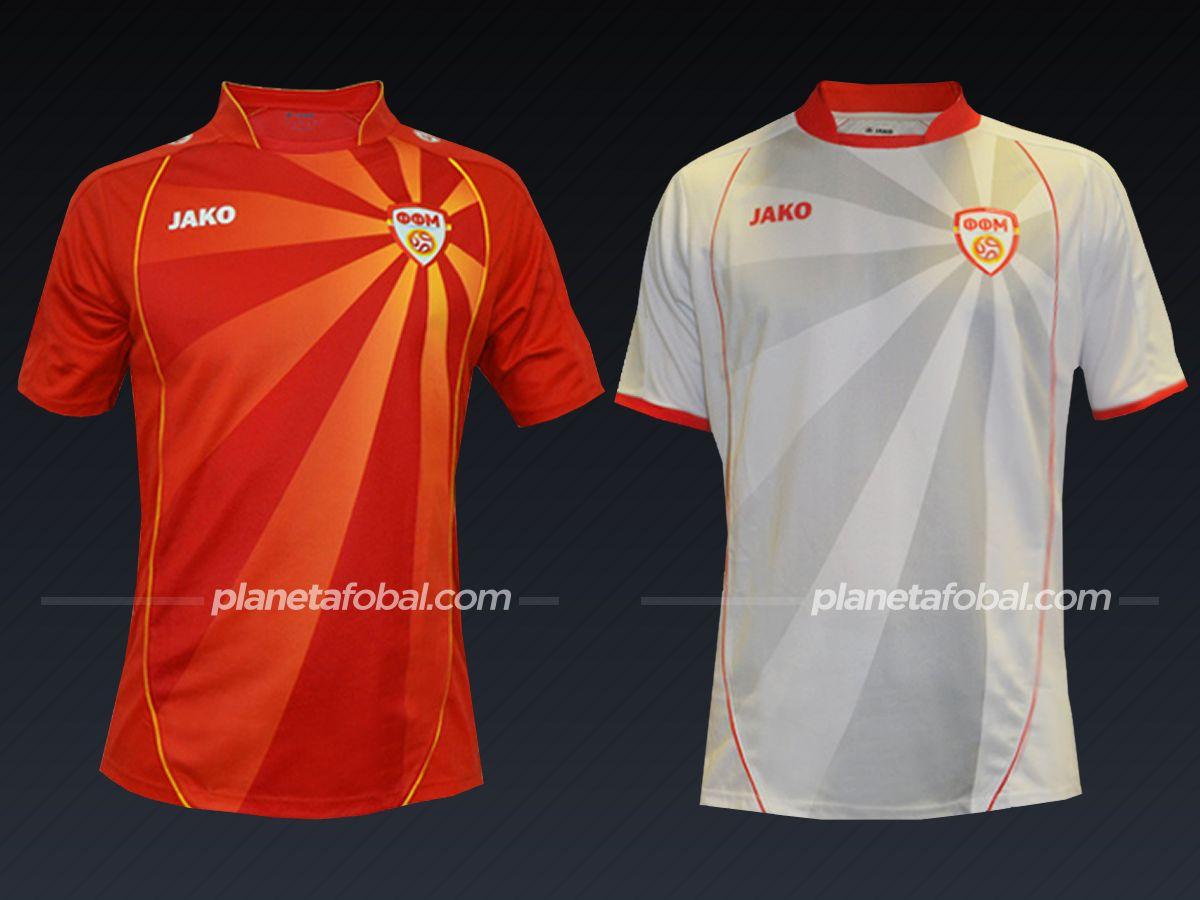Camisetas Jako de Macedonia del Norte 2016/2021