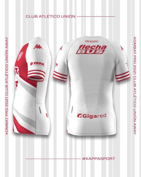 Camiseta alternativa Kappa de Unión 2021   Imagen Web Oficial
