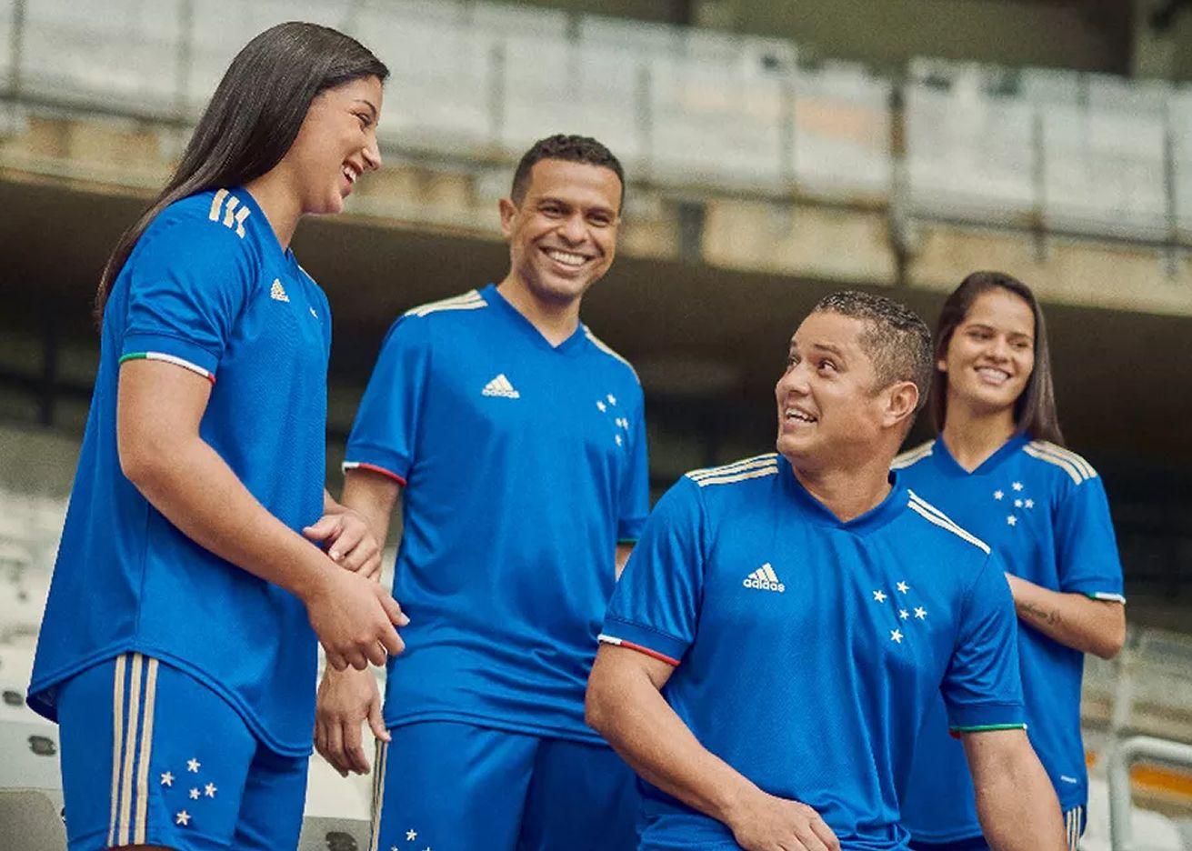 """Camiseta adidas del Cruzeiro """"Centenário"""" 2021"""