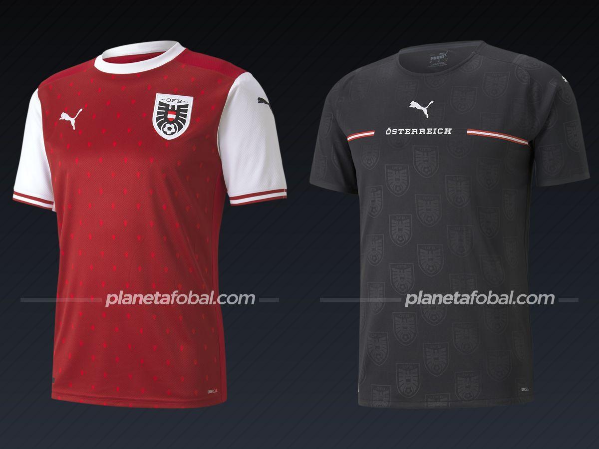 Austria (Puma)   Camisetas de la Euro 2020