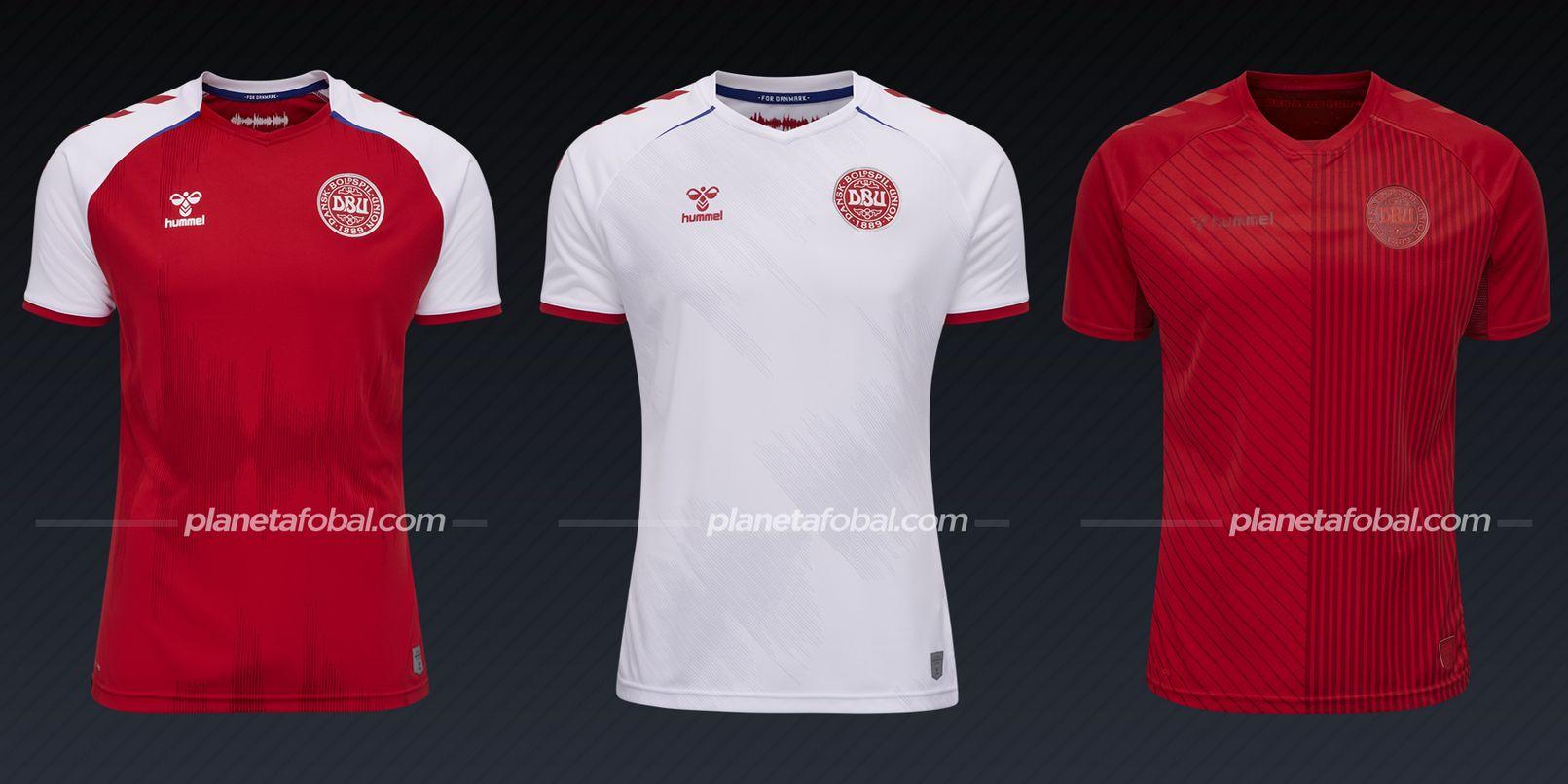 Dinamarca (Hummel)   Camisetas de la Euro 2020