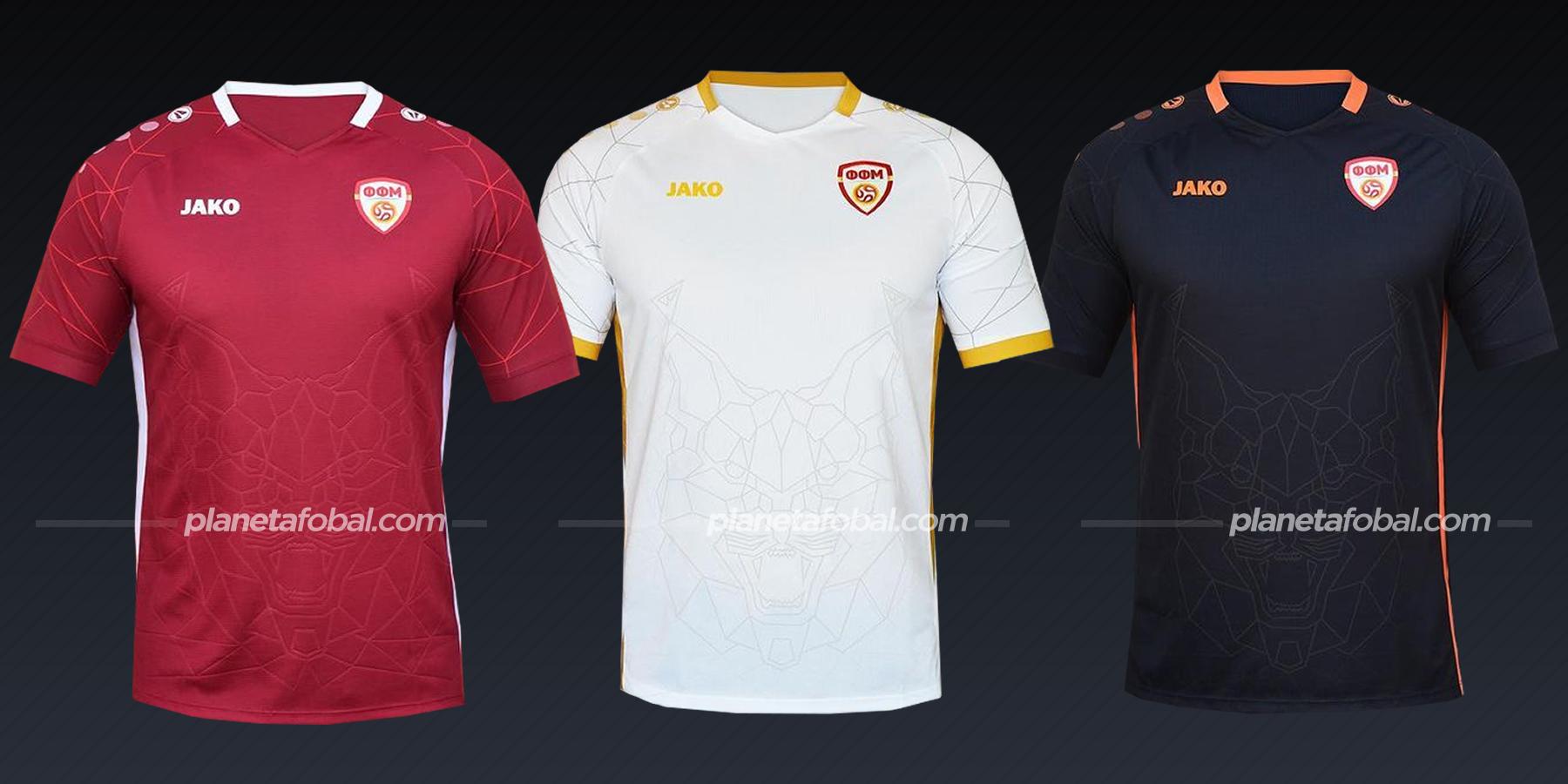 Macedonia del Norte (Jako)   Camisetas de la Euro 2020