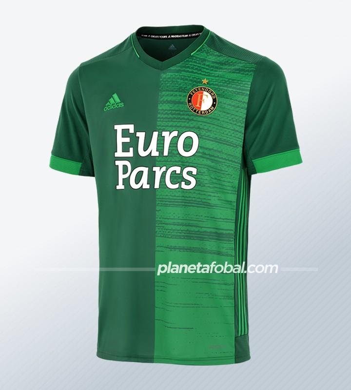 Camiseta suplente adidas del Feyenoord 2021/22