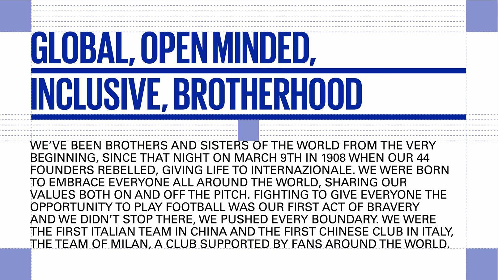 Tipografía oficial del Inter desde 2021/22 | Imagen Web Oficial