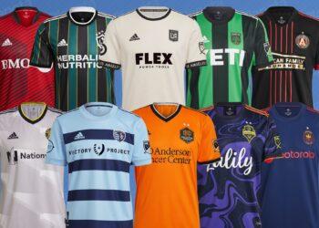 Camisetas de la MLS 2021