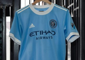 Camiseta adidas del New York City 2021/22