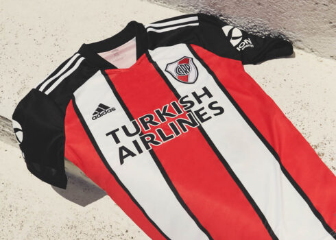 Tercera camiseta adidas de River 2021/2022