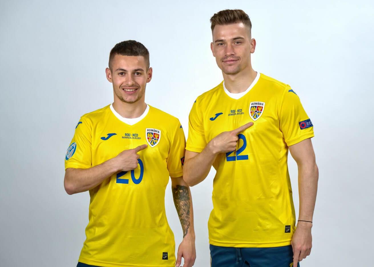 Camisetas Joma de Rumania 2021