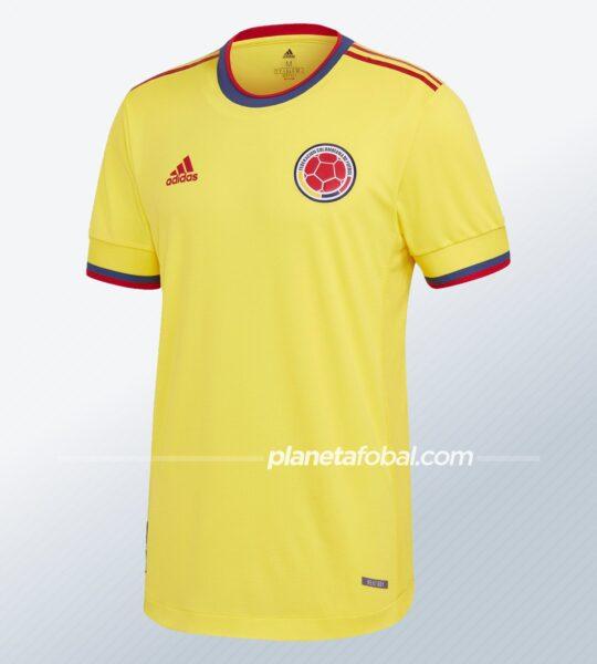 Camiseta adidas de Colombia 2021
