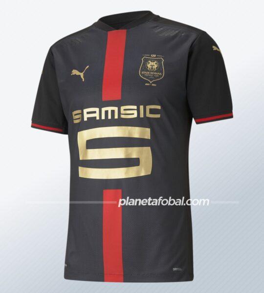"""Camiseta Puma del Stade Rennais """"120 aniversario"""""""