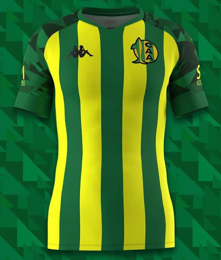 Camiseta titular Kappa de Aldosivi 2021
