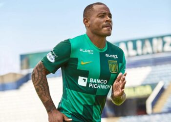 Camiseta alterna Nike de Alianza Lima 2021
