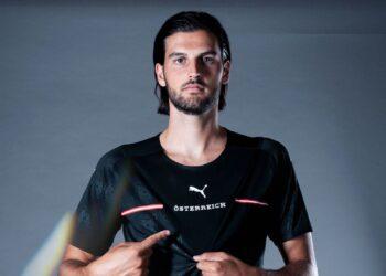 Camiseta suplente Puma de Austria 2021/22