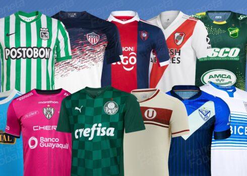 Camisetas de la Copa Libertadores 2021