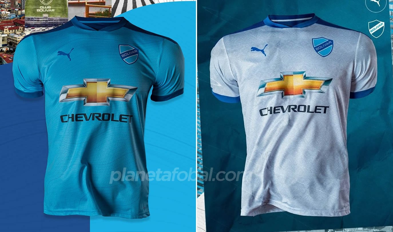 Camisetas Puma del Club Bolívar 2021/22