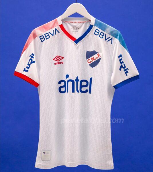 Camiseta Umbro de Nacional 2021 | Imagen Web Oficial