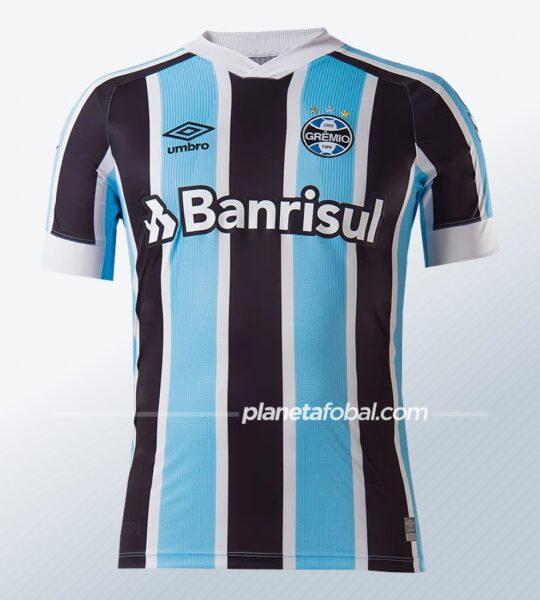 Camiseta titular Umbro del Grêmio 2021/2022