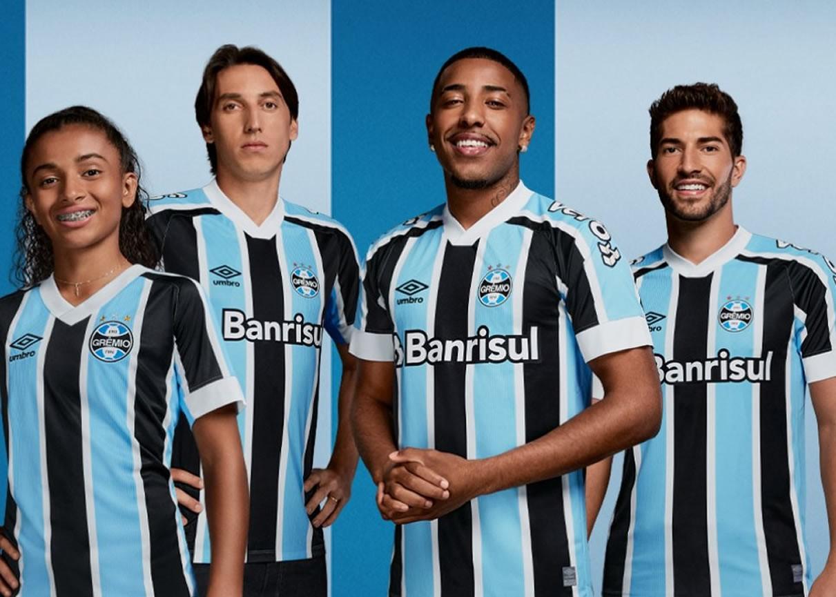 Camisetas Umbro del Grêmio 2021/22