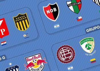 Grupos de la Copa Sudamericana 2021