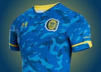 Tercera camiseta Under Armour de Rosario Central 2021