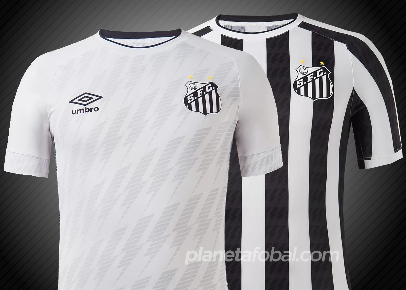Camisetas Umbro del Santos 2021/22