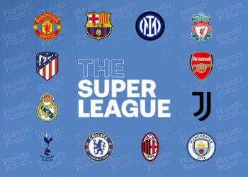Los 12 clubes fundadores de la Superliga de Europa