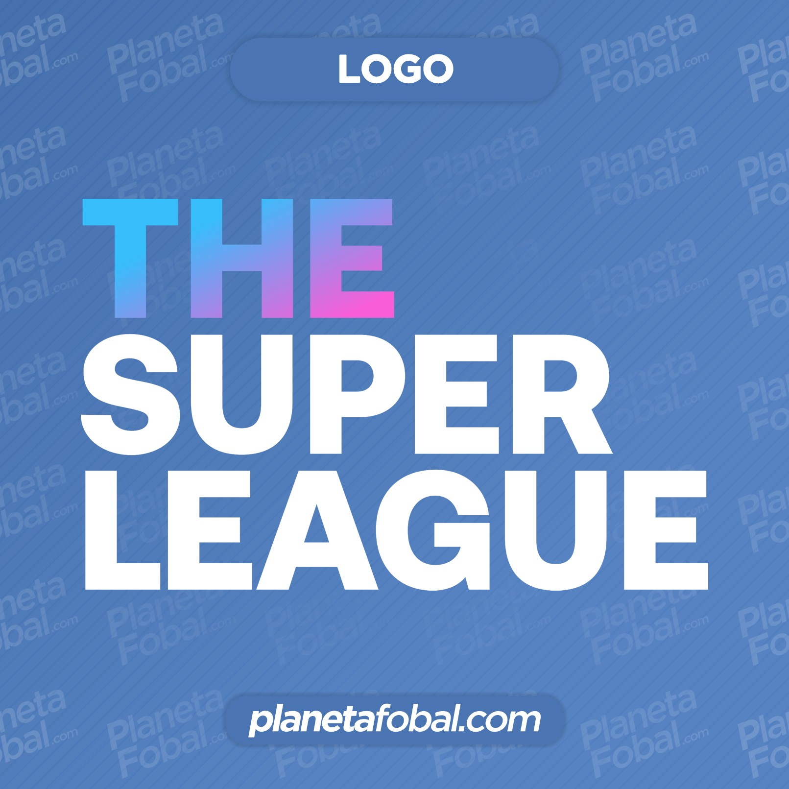"Logo de la nueva Superliga de Europa ""The Super League"""