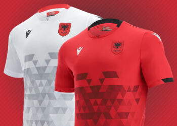 Camisetas Macron de Albania 2021/22