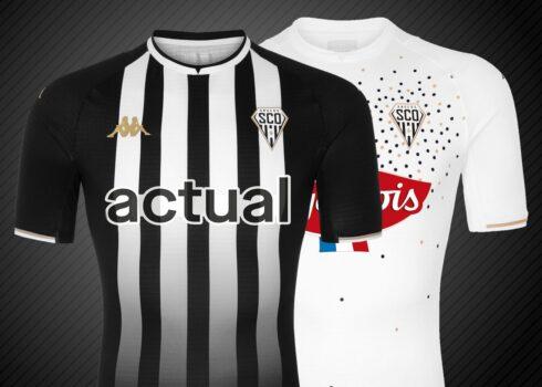 Camisetas Kappa del Angers SCO 2021/22
