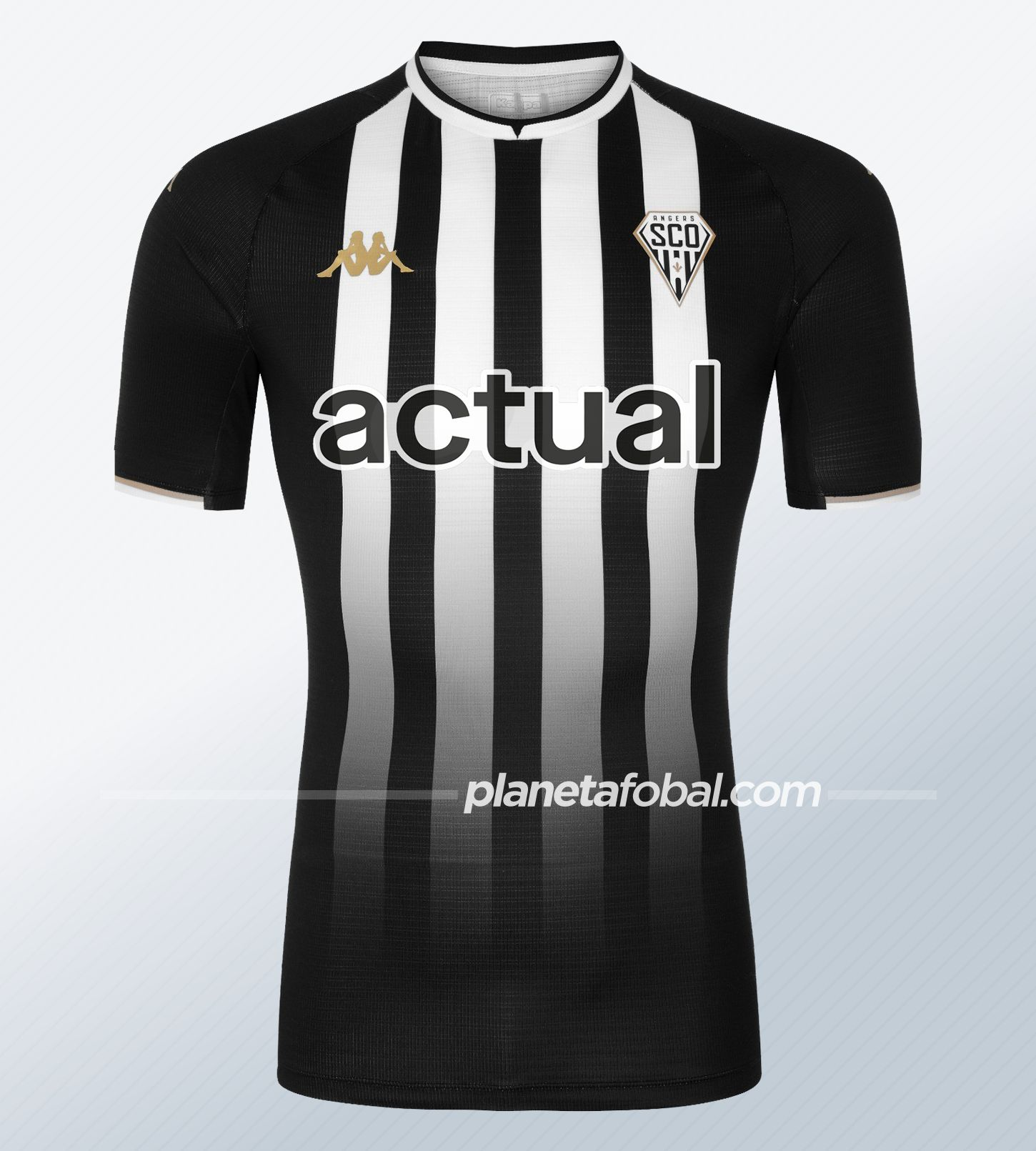 Camiseta titular Kappa del Angers SCO 2021/22