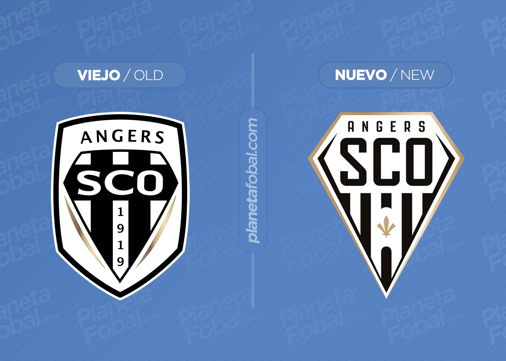 Angers SCO presenta su nuevo escudo oficial
