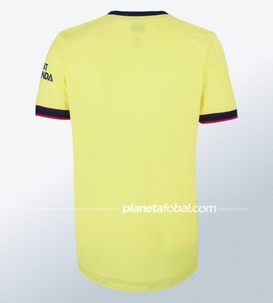 Camiseta suplente adidas del Arsenal 2021/2022