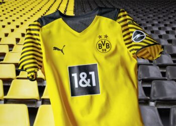 Camiseta Puma del Borussia Dortmund 2021/22
