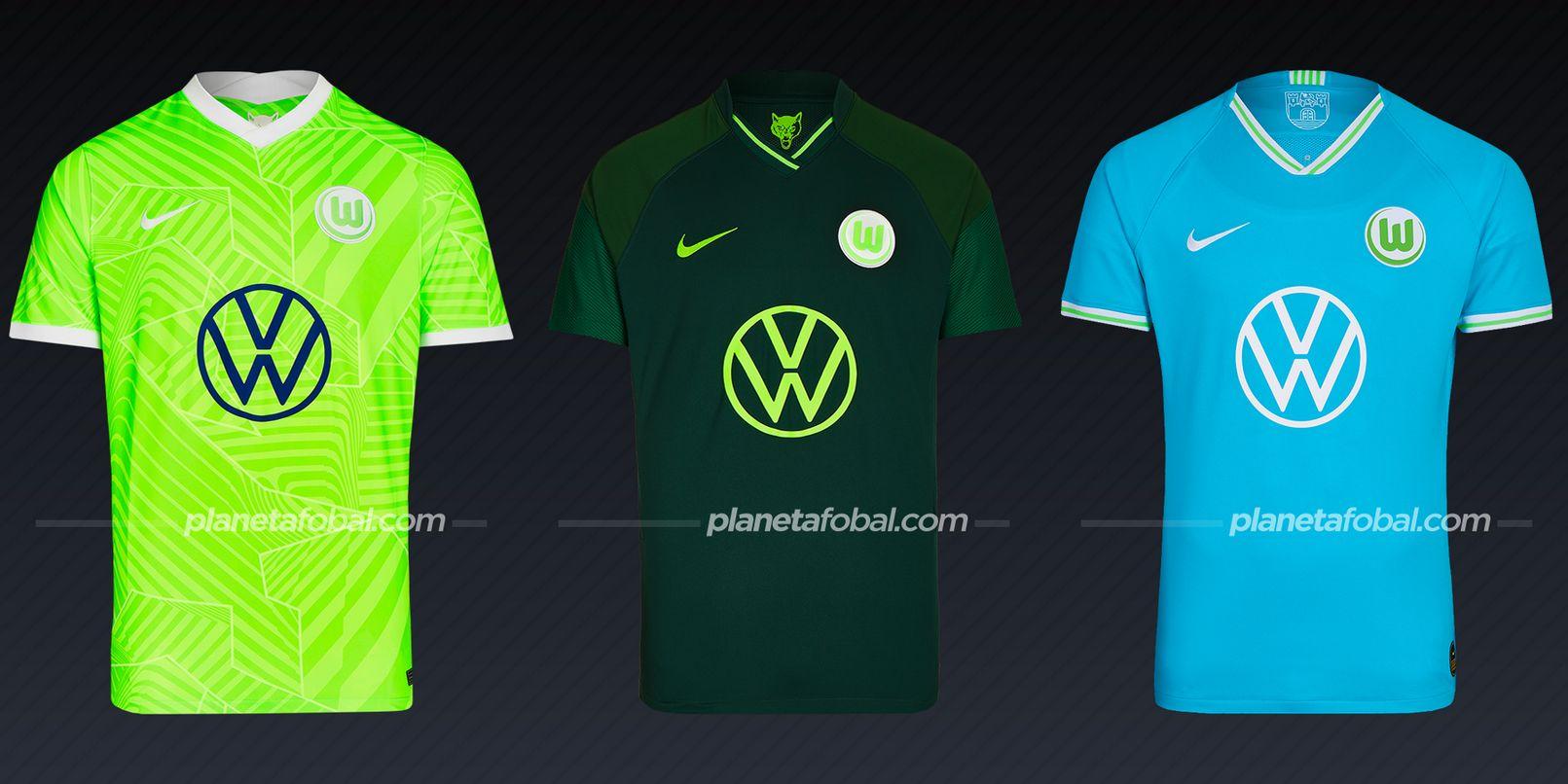 VfL Wolfsburg (Nike)   Camisetas Bundesliga 2021-22