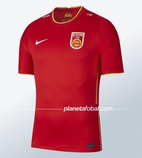 Camisetas Nike de China 2021/2022