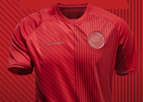 Tercera camiseta Hummel de Dinamarca Euro 2020