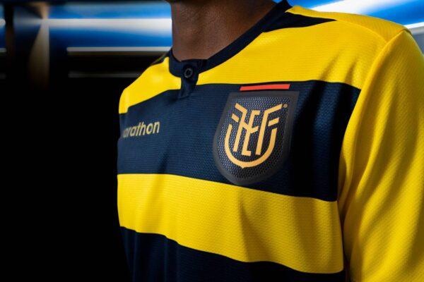 Camiseta local de Ecuador Copa América 2021 | Imagen Marathon