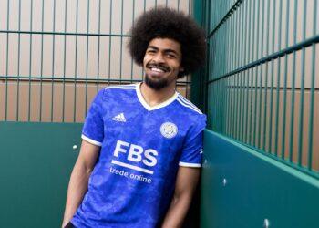 Camiseta adidas del Leicester City 2021/22