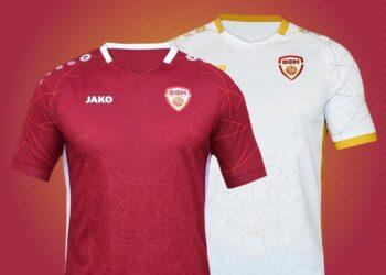 Camisetas Jako de Macedonia del Norte Euro 2020 | Imagen FFM