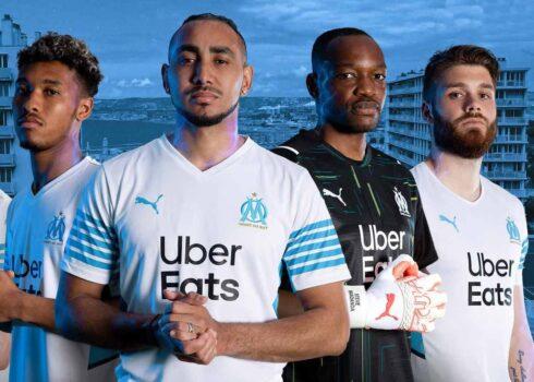 Camiseta Puma del Olympique de Marsella 2021/2022