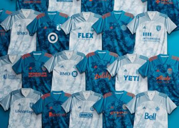 Camisetas adidas PRIMEBLUE de la MLS 2021