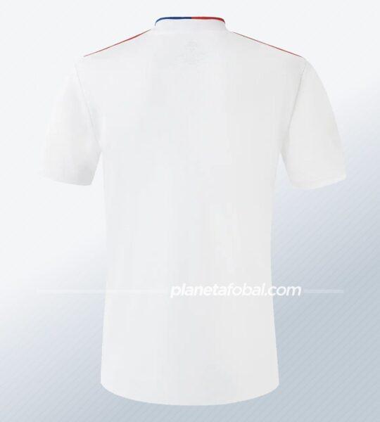 Camiseta titular adidas del Lyon 2021/2022 | Imagen Web Oficial