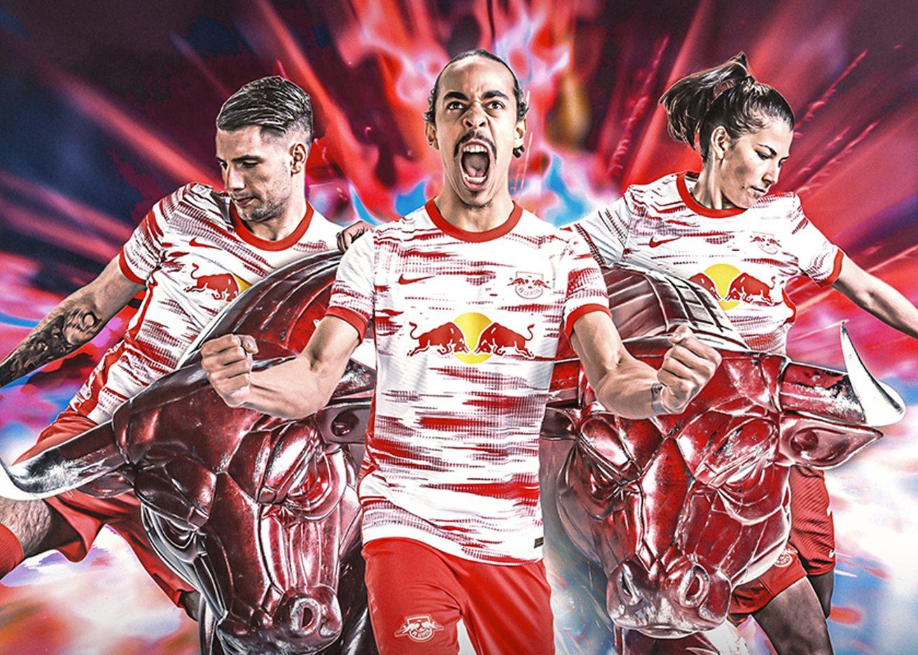 Camiseta Nike del RB Leipzig 2021/2022   Imagen Web Oficial